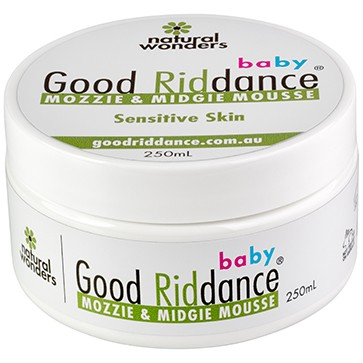 Baby Good Riddance Mozzie & Midgie Mousse® Tub 250ml